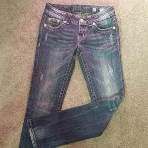 Miss Me Dark wash Size 25 EUC